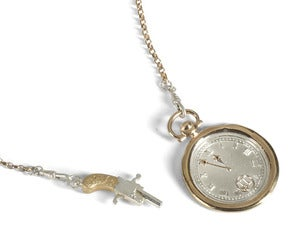 Image of Wax Seal Pocket Watch on Albert Chain