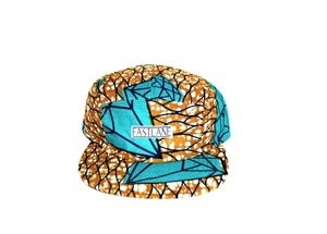 "Image of FASTLANE 5PANEL ""AFRICA"" Blue"