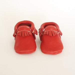 Image of Moccasins - Poppy