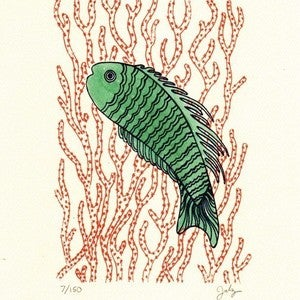 Image of IT'S A FISH : limited edition screenprint