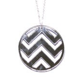 Image of chevron necklace [mirrored]