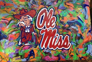 "Image of Ole Miss 16"" x 24"""