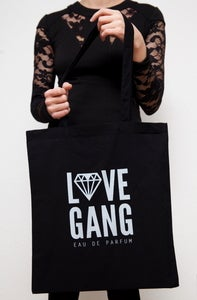 Image of LOVEGANG Eau de Parfum /  Tote Bag Silver & Black