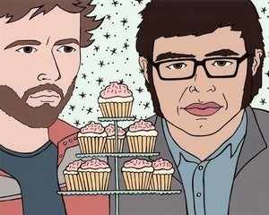 Image of Betty Turbo: Conchords and Cupcakes Print 8x10