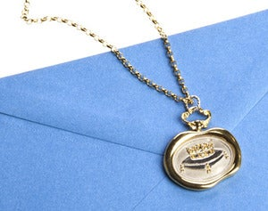 Image of Coronet Wax Seal Necklace