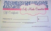 Image of Self Made Cosmetics Gift certificates $25