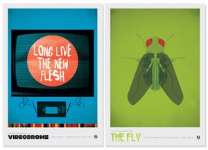 Image of The Fly &amp; Videodrome (Cronenberg Double Pack)