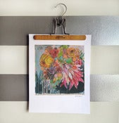 "Image of flowers for lady print 11""x14"""