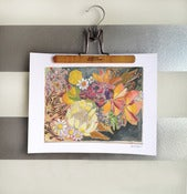 "Image of flowers for hannah print 11""x17"""