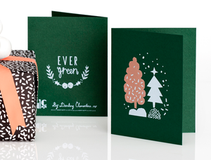 Image of EVERGREEN CARD SET