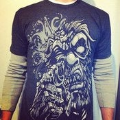 Image of Zombie Nose-Picking Yeti Tee
