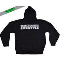 Image of WINNERS CIRCLE LIFESTYLE - BLACK HOODIE
