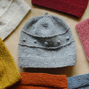 Image of Snöflinga Hat Knitting Pattern Downloadable PDF