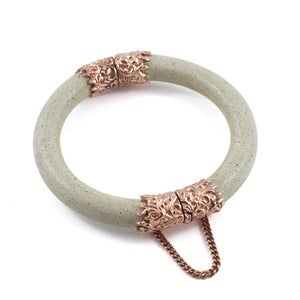 Image of Mimesis Bangle Stone/Rose Gold