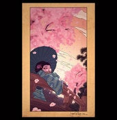 Image of &quot;Cherry Blossoms&quot; Giclee Print