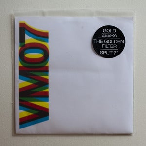 Image of VM07 > GOLD ZEBRA / THE GOLDEN FILTER - SPLIT 7""