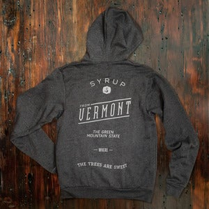 Image of The Trees Are Sweet Hoody - Dark Grey