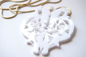 Image of Necklace : White
