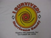 Image of I survived sandy circle design