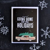 "Image of ""Home For The Holidays"" Holiday Card"