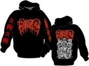 Image of EPICARDIECTOMY Abhorrent stench tour Hoodie 