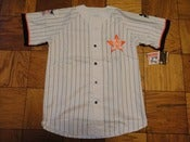 Image of Vintage Deadstock Houston Astros Pinstripe Starter Baseball Jersey
