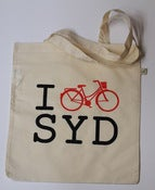 Image of Urban Bike Design Tote Bag