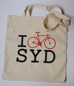 Image of Road Bike Design Tote Bag
