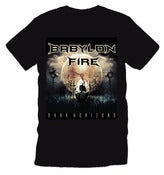 Image of Babylon Fire - Dark Horizons T Shirt (Mens)