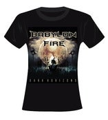 Image of Babylon Fire - Dark Horizons T Shirt (Ladies)