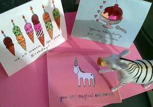 Image of Ice Cream Notecard Assortment!