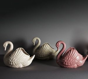 Image of Earthenware Swans
