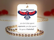 Image of Atlanta Hawks NBA Necklace