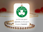 Image of Boston Celtics NBA Necklace