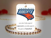 Image of Charlotte Bobcats NBA Necklace