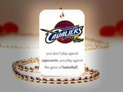 Image of Cleveland Cavaliers NBA Necklace