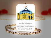 Image of Denver Nuggets NBA Necklace