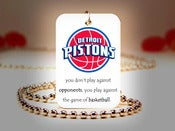 Image of Detroit Pistons NBA Necklace
