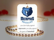 Image of Memphis Grizzlies NBA Necklace
