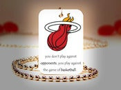 Image of Miami Heat NBA Necklace