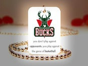 Image of Milwaukee Bucks NBA Necklace
