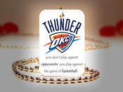 Image of Oklahoma City Thunder NBA Necklace