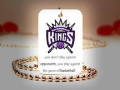 Image of Sacramento Kings NBA Necklace