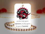 Image of Toronto Raptors NBA Necklace
