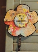 "Image of ""It's a Beautiful Life"" Flower Hook"