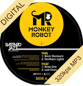 Image of MonkeyRobot - The MonkeyRobot EP Digi