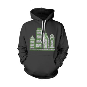 Image of Philly Skyscraper Hoodie (Black)