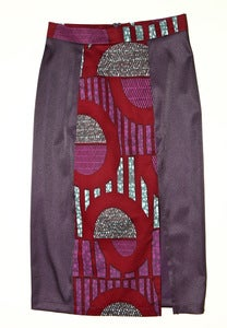 Image of Elma Satin Pencil Skirt- 50% OFF!