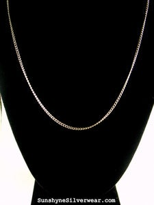 Image of Add on: 24 or 18 inch silver plated chain