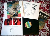 "Image of MENEGUAR ""strangers in our house"" LP"